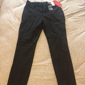 Skinny mid rise stretch size 2R women's slacks